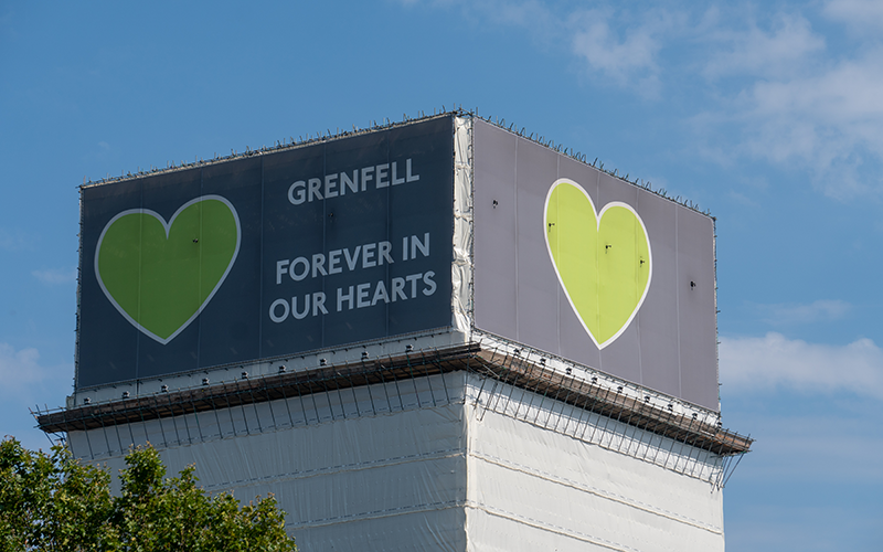 GRENFELL: Three years on
